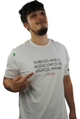 Camiseta Renato Russo Pais e Filhos Branca - Tertúlia Produtos Literários