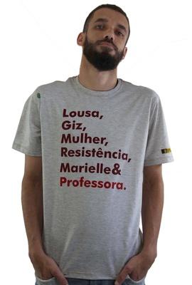Camiseta Marielle Professora Gelo - Tertúlia Produtos Literários