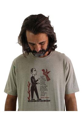 Camiseta Ariano Suassuna Cru - Tertúlia Produtos Literários