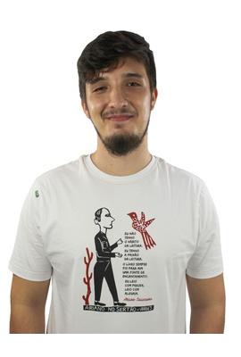 Camiseta Ariano Suassuna Branca - Tertúlia Produtos Literários