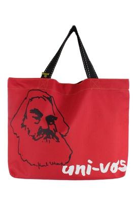Book Bag Karl Marx Vermelha - Tertúlia Produtos Literários
