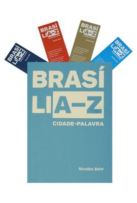Livro BRASÍLIA-Z Cidade Palavra - Nicolas Behr - Tertúlia Produtos Literários