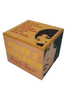 Caixa Porta Chá Angela Davis - Tertúlia Produtos Literários