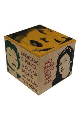 Caixa Porta Chá Clarice - Tertúlia Produtos Literários