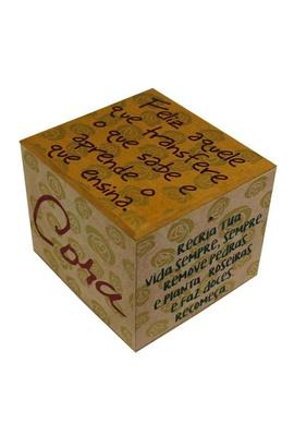Caixa Porta Chá Cora Coralina - Tertúlia Produtos Literários