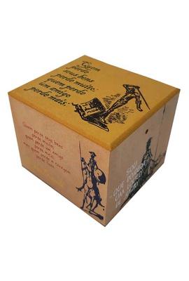 Caixa Porta Chá Dom Quixote - Tertúlia Produtos Literários