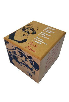 Caixa Porta Chá Paulo Freire - Tertúlia Produtos Literários
