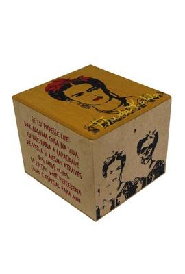 Caixa Porta Chá Frida Kahlo - Tertúlia Produtos Literários