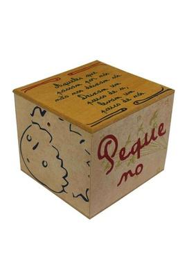 Caixa Porta Chá Pequeno Príncipe - Tertúlia Produtos Literários