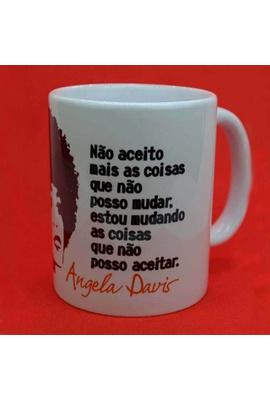 Caneca Angela Davis - Tertúlia Produtos Literários