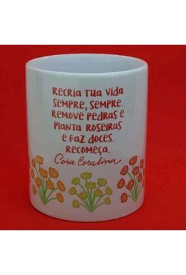 Caneca Cora Coralina - Tertúlia Produtos Literários