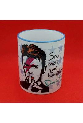 Caneca David Bowie Color Azul - Tertúlia Produtos Literários