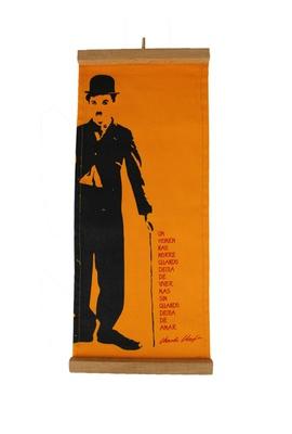 Flâmula Charles Chaplin Amarela - Tertúlia Produtos Literários