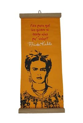 Flâmula Frida Kahlo Pies Amarela - Tertúlia Produtos Literários