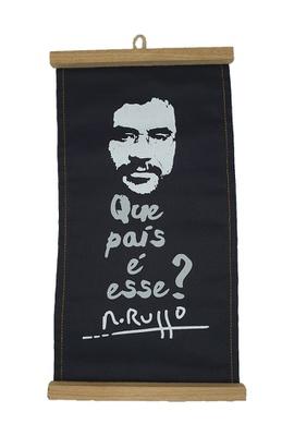 Flâmula Renato Russo Preta - Tertúlia Produtos Literários