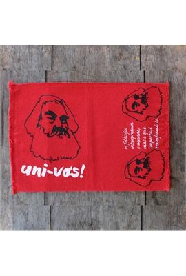 LUGAR NORDESTINO MARX (FILÓSOFOS) - vermelho - Tertúlia Produtos Literários