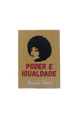 Quadrinho Angela Davis Igualdade - Tertúlia Produtos Literários