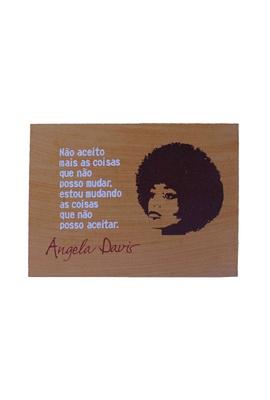 Quadrinho Angela Davis - Tertúlia Produtos Literários