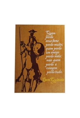 Quadrinho Dom Quixote Coragem - Tertúlia Produtos Literários