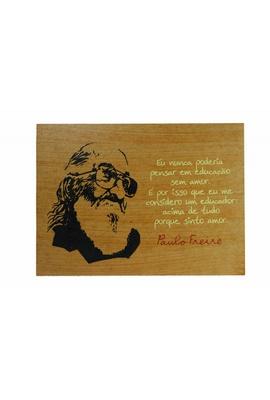 Quadrinho Paulo Freire Educação - Tertúlia Produtos Literários