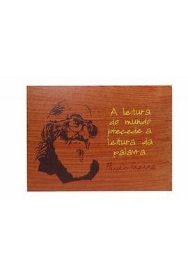 Quadrinho Paulo Freire Leitura - Tertúlia Produtos Literários