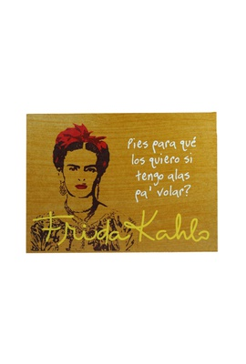 Quadrinho Frida Kahlo Alas - Tertúlia Produtos Literários