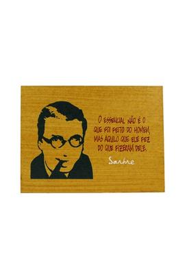 Quadrinho Sartre - Tertúlia Produtos Literários