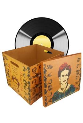 Caixa para Vinil - Frida kahlo - Tertúlia Produtos Literários