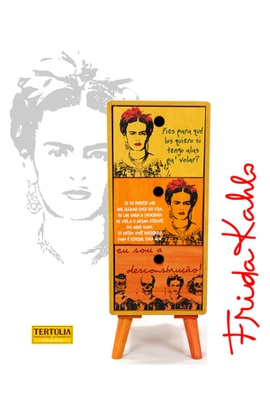 Gaveteiro Frida - 3 Gavetas - Tertúlia Produtos Literários