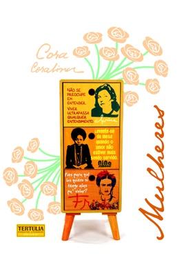 Gaveteiro Mulheres - 3 Gavetas - Tertúlia Produtos Literários