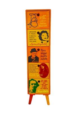 Gaveteiro Literatura 5 gavetas - Tertúlia Produtos Literários