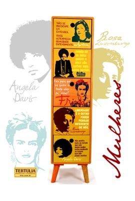 Gaveteiro Mulheres - 5 gavetas - Tertúlia Produtos Literários