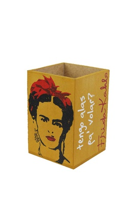 Porta-lápis Frida Kahlo - Tertúlia Produtos Literários