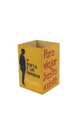 Porta-lápis Fernando Pessoa - Tertúlia Produtos Literários
