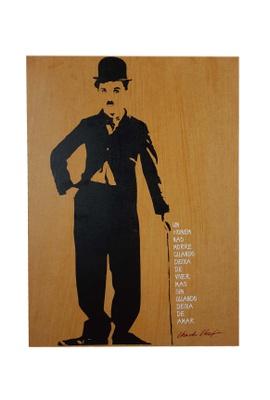 Quadro Chaplin - Tertúlia Produtos Literários