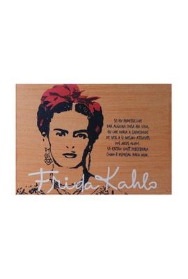 Quadro Frida Kahlo Olhos - Tertúlia Produtos Literários