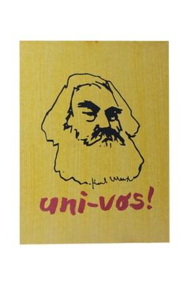 Quadro Karl Marx - Tertúlia Produtos Literários