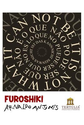 FUROSHIKI ARNALDO ANTUNES - O Que - 70x70cm - Tertúlia Produtos Literários