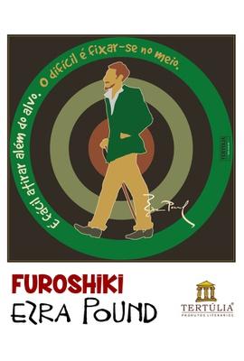 FUROSHIKI EZRA POUND - Preto - 70x70cm - Tertúlia Produtos Literários