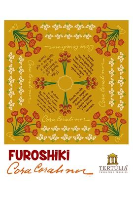 FUROSHIKI CORA - Amarelo - 70x70cm - Tertúlia Produtos Literários