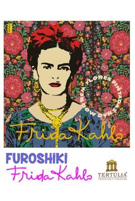FUROSHIKI FRIDA KAHLO - Floral - 70x70cm - Tertúlia Produtos Literários