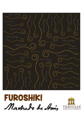 FUROSHIKI MACHADO DE ASSIS - Preto - 70x70cm - Tertúlia Produtos Literários