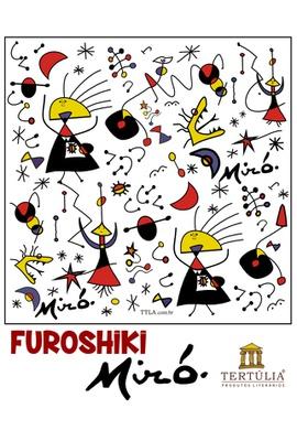 FUROSHIKI MIRÓ - Branco - 70x70cm - Tertúlia Produtos Literários