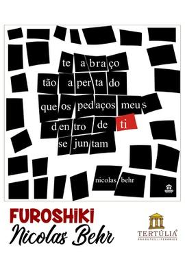 FUROSHIKI NICOLAS BEHR - Preto e Branco - 71x71cm - Tertúlia Produtos Literários