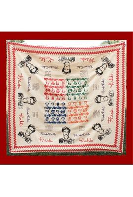 Toalha de Mesa Algodão - Frida Color - Tertúlia Produtos Literários