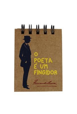 Bloquinho Fernando Pessoa - Tertúlia Produtos Literários