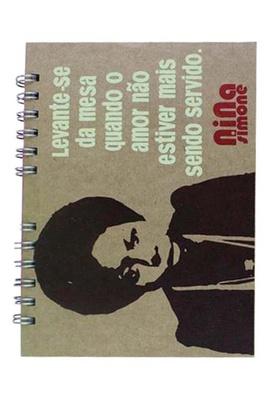 Caderno Nina Simone - Tertúlia Produtos Literários