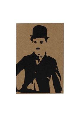 Cartão Charles Chaplin - Tertúlia Produtos Literários