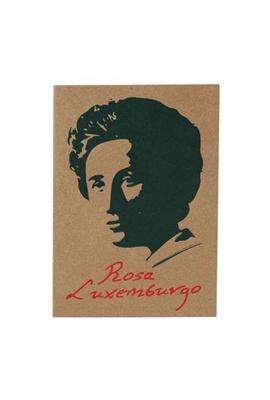 Cartão Rosa Luxemburgo - Tertúlia Produtos Literários