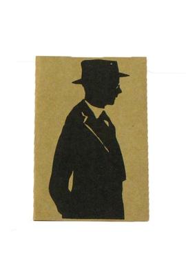 Cartão Fernando Pessoa Pensamentos - Tertúlia Produtos Literários